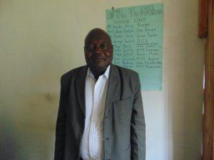 The Water Project:  Principal Henry Okore Amoke