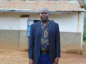 The Water Project:  Head Teacher Mr Joseph Saina