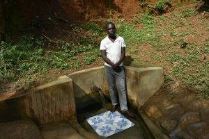 The Water Project:  Movix Ogalu Of Nyanje Spring