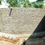 The Water Project: Enyapora Primary School -  Outer Walls Get Cement