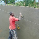 The Water Project: Musasa Primary School -  Plastering