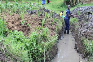 The Water Project:  Opening The Drainage Channel