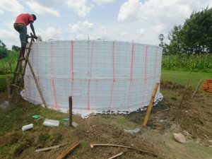 The Water Project:  Plastic And Wire Form For Walls
