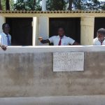 The Water Project: Ematiha Secondary School -  Boys With Their New Latrines
