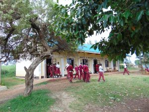 The Water Project:  Students Outside Their Classrooms