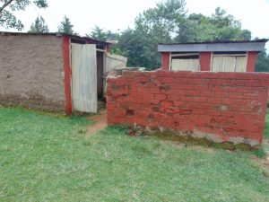The Water Project:  Boys Latrine Block