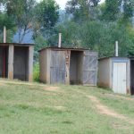 The Water Project: Malinda Secondary School -  Boys Latrines