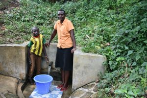 The Water Project:  Litrelius Bordar And Gladys Ndunde