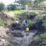 The Water Project: Bungaya Community, Charles Khainga Spring -  Brick Works For Spring Walls