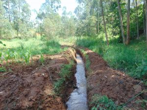 The Water Project:  Drainage Channel