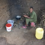 The Water Project: Khwihondwe SA Primary School -  School Cook Inside The Kitchen