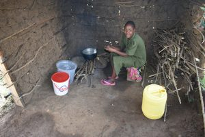 The Water Project:  School Cook Inside The Kitchen