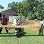 The Water Project: Ematiha Secondary School -  Lumber Delivery By Motorbike
