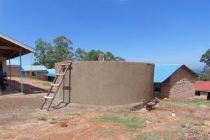 The Water Project:  Rain Tank Walls Take Shape