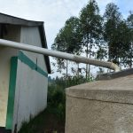 The Water Project: Elufafwa Community School -  Gutter Is Attached