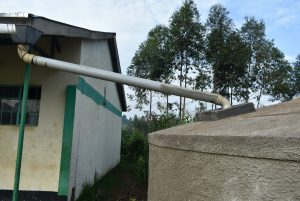 The Water Project:  Gutter Is Attached