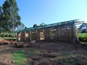 The Water Project:  New Classroom Under Construction