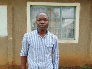 The Water Project:  Teacher Kalamwa Muombe