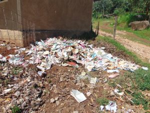 The Water Project:  Compost Pit