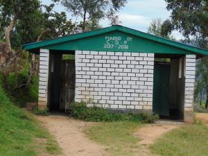 The Water Project:  Primary Section Toilets Used By The Secondary Students