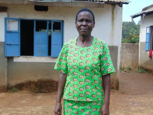 The Water Project:  Teacher Mrs Winnie Odemo