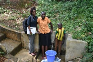 The Water Project:  Field Officer Betty Mwangi Joins Gladys And Litrelius