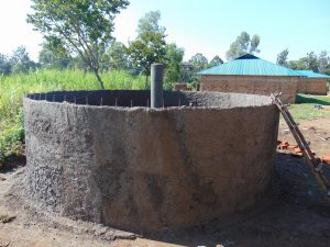 The Water Project:  Rain Tank Walls