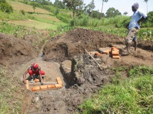 The Water Project:  Bricksetting And Measurements