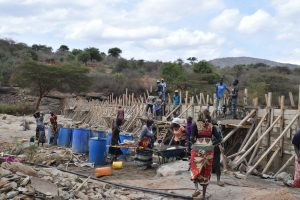 The Water Project:  Dam Construction Phase Five