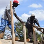 The Water Project: Mukuku Community -  Dam Construction Phase Five