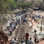The Water Project: Mukuku Community -  Dam Construction Phase Four