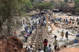 The Water Project:  Dam Construction Phase Four