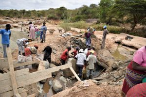 The Water Project:  Dam Construction Phase One