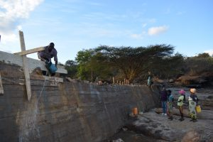 The Water Project:  Dam Construction Phase Six