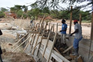 The Water Project:  Dam Construction Phase Two