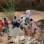 The Water Project: Mukuku Community -  Mixing Cement