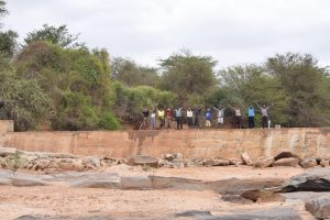 The Water Project:  Shg Members Celebrate On Their New Dam
