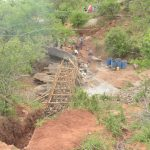 The Water Project: Kathuli Community -  Dam Construction