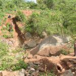 The Water Project: Kathuli Community -  Dam Site