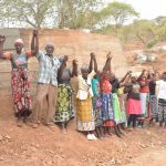 The Water Project: Kathuli Community -  Shg Members At Their New Dam