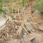 The Water Project: Kathuli Community -  Dam Nears Completion