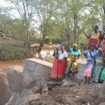 The Water Project: Tulimani Community -  Posing At The Completed Dam
