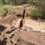 The Water Project: Tulimani Community -  Trench For Dam