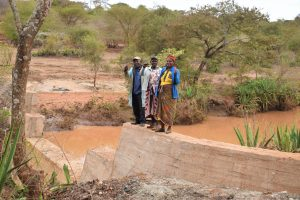 The Water Project:  Celebrating Completed Dam