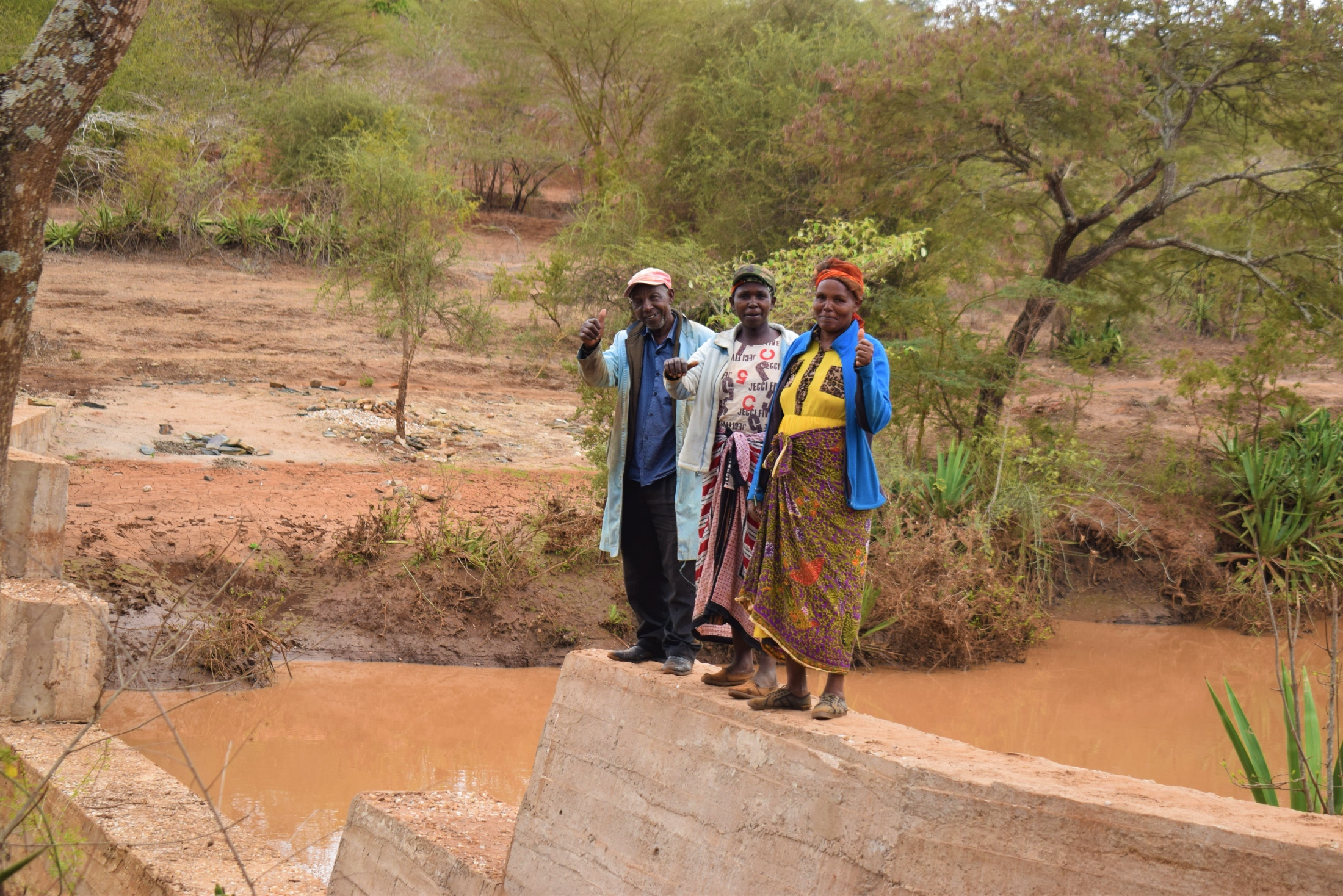 The Water Project : kenya19202-thumbs-up