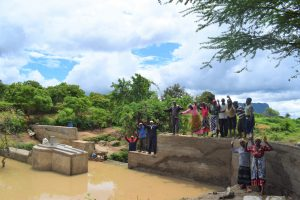 The Water Project:  Celebrating The New Well And Dam