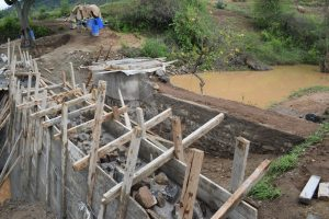 The Water Project:  Dam And Well Construction Progress