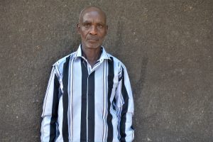 The Water Project:  Eluid Kyungu Water User Committee Chairperson