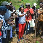 The Water Project: Mbiuni Community A -  Handwashing Lessons