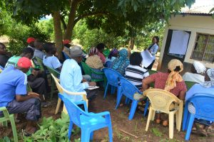 The Water Project:  People Listen During The Training